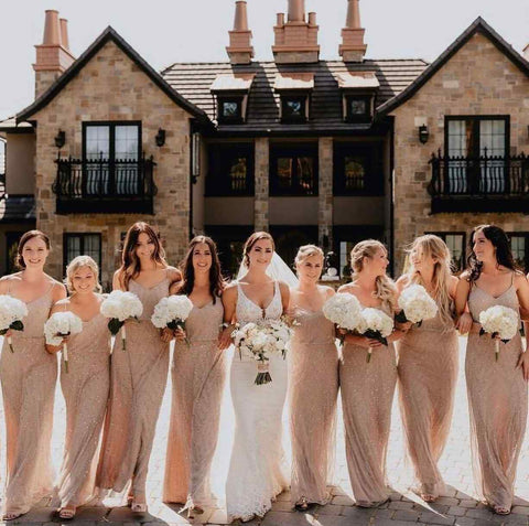 Fall wedding colors for bridesmaids