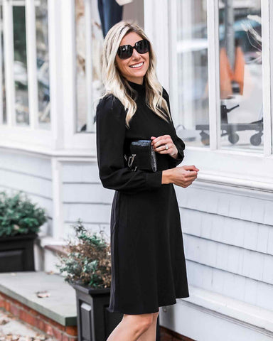 Perfect little black dress for your body type