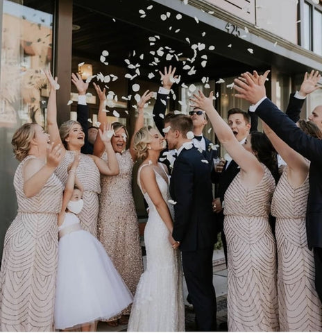 Spring and summer bridesmaid style