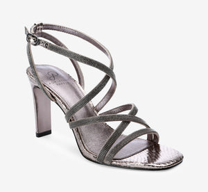 Armada Metallic Pump In Gunmetal