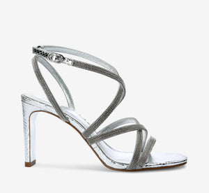 Armada Metallic Pump In Silver