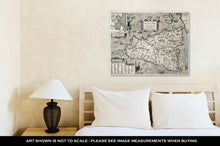 Load image into Gallery viewer, Gallery Wrapped Canvas, Sicily Old Map With Syracuse Detail