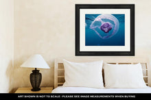 Load image into Gallery viewer, Framed Print, Nice Beautiful Small Jellyfish In Red Sea