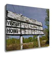 Load image into Gallery viewer, Gallery Wrapped Canvas, Baseball Wooden Scoreboard