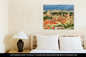 Gallery Wrapped Canvas, View Of Split The Secondlargest City Of Croatia