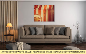 Gallery Wrapped Canvas, Vintage Circus Arena