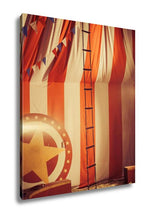 Load image into Gallery viewer, Gallery Wrapped Canvas, Vintage Circus Arena