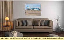 Load image into Gallery viewer, Gallery Wrapped Canvas, Buenos Aires Jorge Newbery Airport Argentina