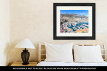 Load image into Gallery viewer, Framed Print, Monaco Monte Carlo Harbour French Riviera