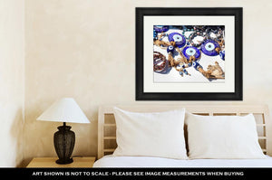 Framed Print, Istanbul Evil Eye Amulet In Shop