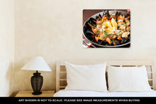 Load image into Gallery viewer, Metal Panel Print, Barcelonseafood Paellin Fry Pan