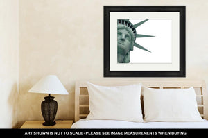 Framed Print, Statue Of Liberty