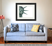 Load image into Gallery viewer, Framed Print, Statue Of Liberty
