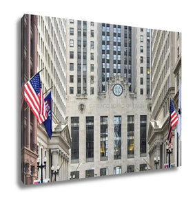 Gallery Wrapped Canvas, Chicago Board Of Trade Building