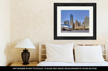 Load image into Gallery viewer, Framed Print, Cloud Gate At Millennium Park 1