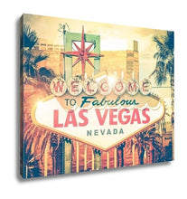 Load image into Gallery viewer, Gallery Wrapped Canvas, Vintage Las Vegas Photo