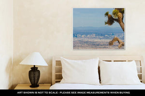Gallery Wrapped Canvas, Joshutree And Las Vegas Strip