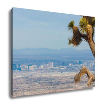 Load image into Gallery viewer, Gallery Wrapped Canvas, Joshutree And Las Vegas Strip