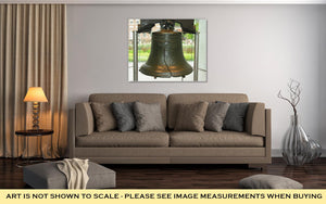 Gallery Wrapped Canvas, Philadelphiliberty Bell