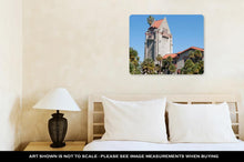 Load image into Gallery viewer, Metal Panel Print, Tower At San Jose State University
