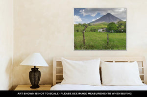 Gallery Wrapped Canvas, Volcano Arenal In Costriccentral America