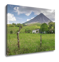 Load image into Gallery viewer, Gallery Wrapped Canvas, Volcano Arenal In Costriccentral America