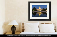Load image into Gallery viewer, Framed Print, Us Capital Building In Washington Dc USA