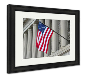 Framed Print, Washington Dc Washington Federal Building