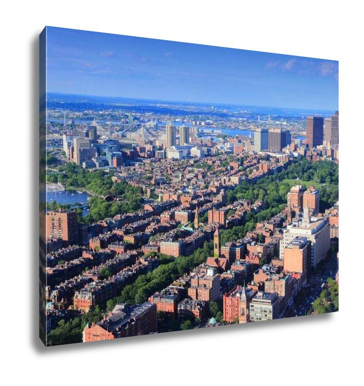 Gallery Wrapped Canvas, Boston Aerial View