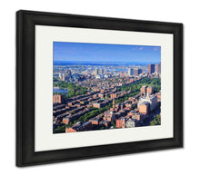Load image into Gallery viewer, Framed Print, Boston Aerial View
