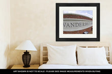 Load image into Gallery viewer, Framed Print, Famous Vanderbilt University Campus In Nashville Tennessee