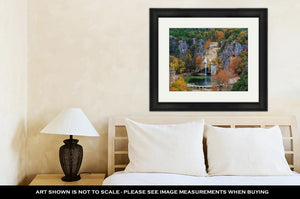 Framed Print, Turner Falls 2
