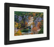 Load image into Gallery viewer, Framed Print, Turner Falls 2