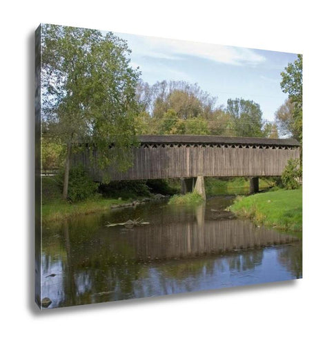 Gallery Wrapped Canvas, Covered Bridge