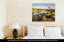 Load image into Gallery viewer, Gallery Wrapped Canvas, Desert Landscape In Tucson Arizona