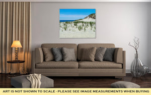 Gallery Wrapped Canvas, Dunes Long Beach Island