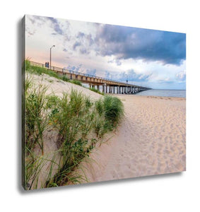 Gallery Wrapped Canvas, Virginibeach Chesapeake Bay Bridge