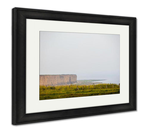 Framed Print, Omahbeach One Five Landing Beaches Normandy Landings On 6 June