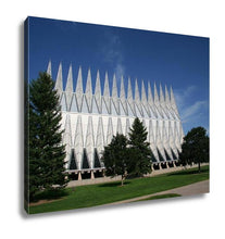 Load image into Gallery viewer, Gallery Wrapped Canvas, Air Force Academy Chapel Colorado Springs