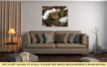 Load image into Gallery viewer, Gallery Wrapped Canvas, Dried Joshua Trees Flowers And Leaves