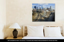 Load image into Gallery viewer, Gallery Wrapped Canvas, Raleigh Skyline