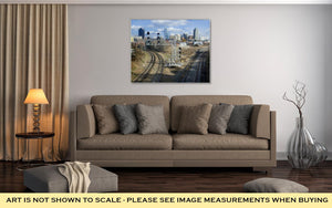 Gallery Wrapped Canvas, Raleigh Skyline