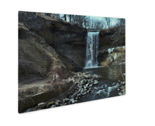 Load image into Gallery viewer, Metal Panel Print, Minnehahfalls In Minneapolis Minnesotduring Spring