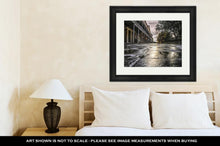 Load image into Gallery viewer, Framed Print, Vieux Carré Cobblestones
