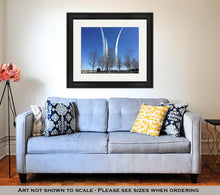 Load image into Gallery viewer, Framed Print, Airforce Memorial In Washington Dc