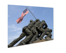 Load image into Gallery viewer, Metal Panel Print, Arlington Us Marine Corps War Memorial
