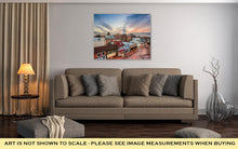 Load image into Gallery viewer, Gallery Wrapped Canvas, Capitol Building Annapolis Maryland Usdowntown View Over Main