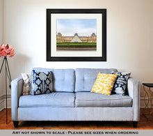 Load image into Gallery viewer, Framed Print, The Louvre Museum In Paris