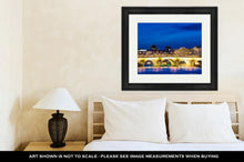Load image into Gallery viewer, Framed Print, Louvre Pont Neuf Oldest Standing Bridge Across River Seine Paris