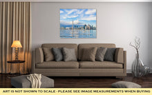 Load image into Gallery viewer, Gallery Wrapped Canvas, Toronto Skyline On Sunny Day Canada